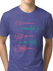 vintage scissors Tri-blend T-Shirt