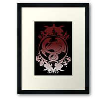 Battle For Third Earth Framed Print