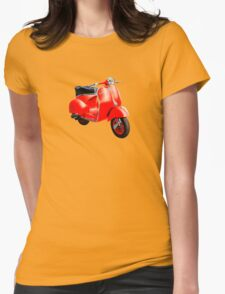 Vespa Scooter Womens Fitted T-Shirt