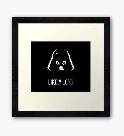 Like A Lord (Science-Fiction) Framed Print