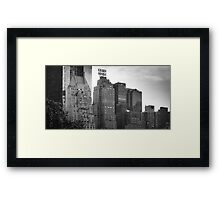 Skyline, NYC Framed Print