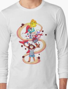 Undertale Spaghetti Party Long Sleeve T-Shirt