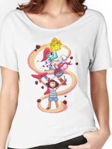 Undertale Spaghetti Party Women's Relaxed Fit T-Shirt