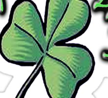 Saint Patrick's Day, Irish, Eire, Ireland, USA, Lucky Clover Sticker