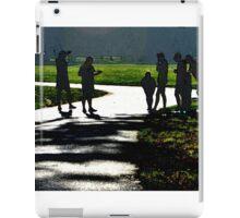 runners iPad Case/Skin