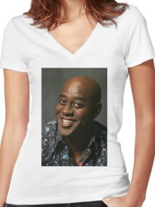 Ainsley Harriott's Always With Me Women's Fitted V-Neck T-Shirt