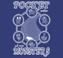 Pocket Monsters - Water by Vitalitee