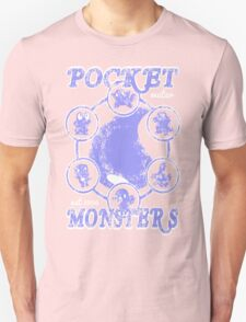 Pocket Monsters - Water T-Shirt