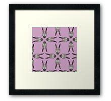Frank Pattern (Donnie Darko) Framed Print