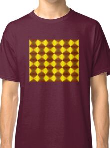 Bold Red, Green and Gold Repeating Pattern Classic T-Shirt