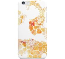 Honeycomb hexagons repeating pattern iPhone Case/Skin