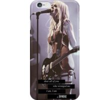 I am a zombie  iPhone Case/Skin