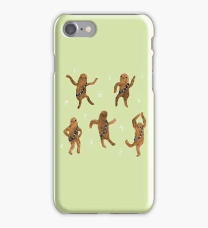 Wookie Dance Party iPhone Case/Skin