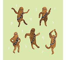 Wookie Dance Party Photographic Print