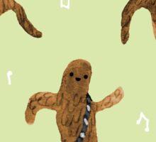 Wookie Dance Party Sticker