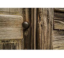 Vintage Door Photographic Print