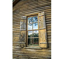 Window in Window: Vintage Photographic Print