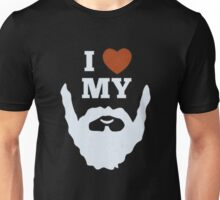 Funny I Heart Love My Beard Unisex T-Shirt