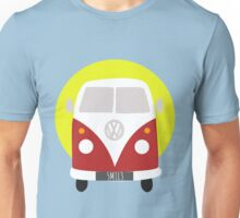 VW Campervan Red Unisex T-Shirt