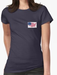American Pride Womens Fitted T-Shirt