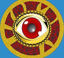 Eye of Agamotto by hibird27