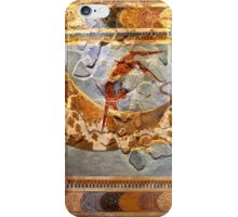 Minoan Times - Dancing with the bulls iPhone Case/Skin