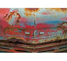 S Is For Studebaker Photographic Print