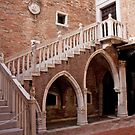 Roman Courtyard by phil decocco