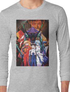 Neon Genesis Evangelion Long Sleeve T-Shirt