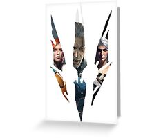 Witcher Greeting Card