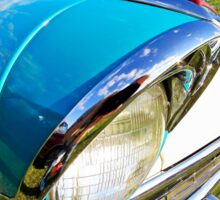 Classic car headlight 3 Sticker
