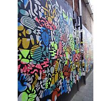 Graffiti on the wall Photographic Print