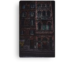 Buildings in Rome Canvas Print