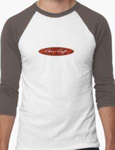 Chris Craft Vintage Wood Boats Men's Baseball ¾ T-Shirt