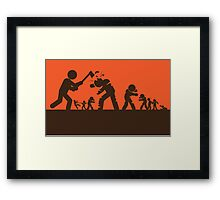 Zombie - Survival Framed Print