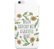 Grateful iPhone Case/Skin