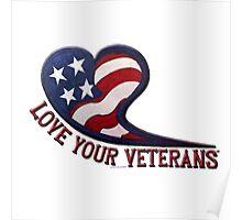 love your veterans Poster