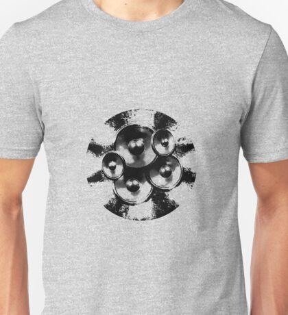 Black and white music speakers Unisex T-Shirt