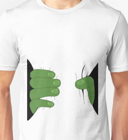Grabbed by the Hulk Unisex T-Shirt