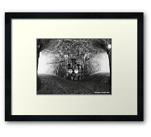 Under the fortress Framed Print