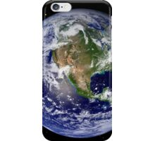 Full Earth showing North America iPhone Case/Skin