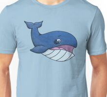 Worried Whale Unisex T-Shirt