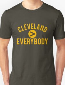 Cleveland > Everybody - Brown and Orange - Go Browns - Dawg Pound T-Shirt