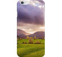 Castlerigg Stone Circle 1 iPhone Case/Skin