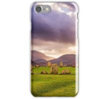 Castlerigg Stone Circle 1 iPhone Case/Skin