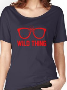 Wild Thing - For The Major League Indians Fan! Women's Relaxed Fit T-Shirt