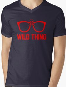 Wild Thing - For The Major League Indians Fan! Mens V-Neck T-Shirt