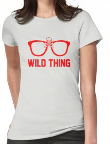 Wild Thing - For The Major League Indians Fan! Womens Fitted T-Shirt