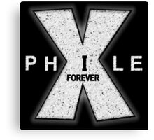 X-Phile Forever Canvas Print