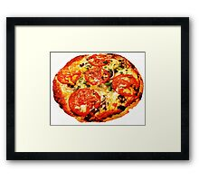 Pizza Pizzazzzz Framed Print